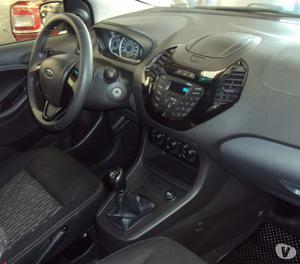 Ford Novo KA+ 1.5 SE  flex completo abs airbag prata