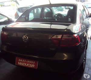 VW Novo Voyage 1.6 Trendline  flex abs airbag cinza
