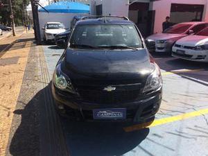 Chevrolet Montana Sport 1.4 Econoflex 8v 2p  Preto Flex