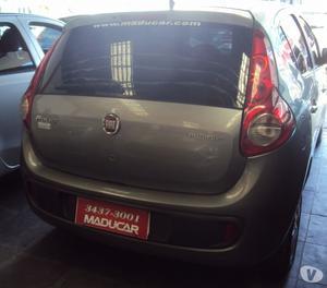 Fiat Novo Palio Attractive  flex completo cinza