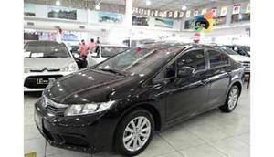 Honda Civic Sedan Lxs  Flex 16v Aut. 4p  Preto