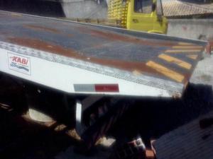 Prancha Reboque Hidráulico Plataforma - Caminhões, ônibus e vans - Venda das Pedras, Itaboraí   OLX