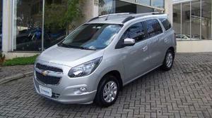 Chevrolet Spin Ltz 1.8 8v Econo.flex 5p Aut.  Prata Flex