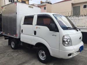 Kia Bongo Cabine Dupla 4x4 Com Baú Super Conservada -