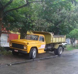 Caminhao ford f basculante ano 77 - Caminhões, ônibus e vans - Bangu, Rio de Janeiro | OLX