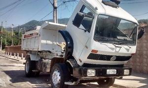 Caminhao vw caçamba 96 completo - Caminhões, ônibus e vans - Parque Novo Rio, São João de Meriti | OLX