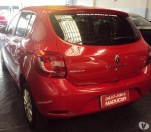 Renault Novo Sandero Expression  Hi-Power Prata