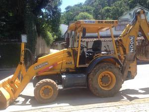 Retroescavadeira Randon RK 406 B 4x - Caminhões, ônibus e vans - Carangola, Petrópolis   OLX
