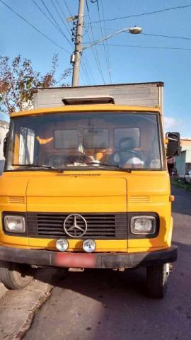 Caminhão 608 baú  - Caminhões, ônibus e vans - Guadalupe, Rio de Janeiro | OLX
