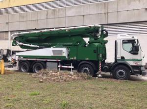Auto bomba de concreto com lança putzmeister 42m Z - Caminhões, ônibus e vans - Recreio Dos Bandeirantes, Rio de Janeiro | OLX