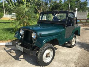 WILLYS JEEP 4X4 6CC - VERDE -