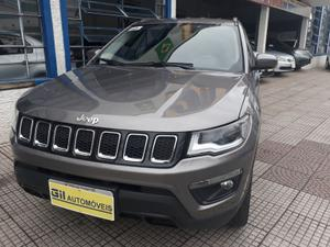 JEEP COMPASS LONGITUDE 4X4 - CINZA -
