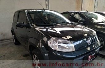 Fiat Uno 1.0 4P FLEX VIVACE P Cinza Flex