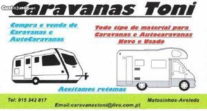peças e acessorios para caravanas/autocaravanas Setembro/00