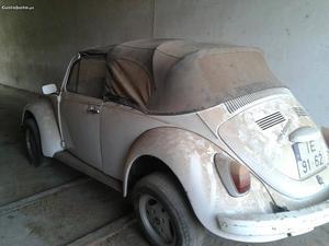 VW Carocha Cabrio Janeiro/80 - à venda - Ligeiros