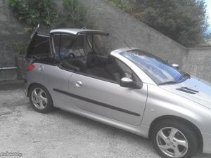 Peugeot 206+ cabriolet Julho/01 - à venda - Descapotável /
