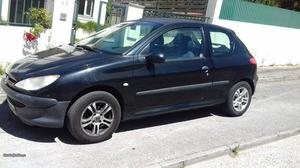 Peugeot 206 van 1.9 D ar cond. Dezembro/00 - à venda -