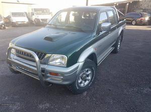 Mitsubishi L TD Nacional 4x4 Agosto/98 - à venda -