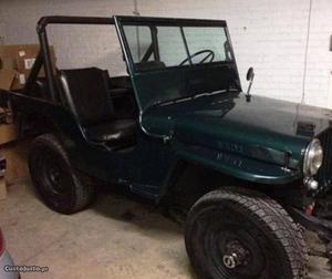 Jeep Willy Willys CJ Novembro/80 - à venda - Pick-up/