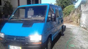 Renault Trafic mista Janeiro/90 - à venda - Monovolume /
