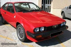 Alfa Romeo GTV GTV 6 Abril/81 - à venda - Descapotável /