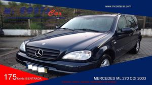 Mercedes-Benz Classe M ML 270 CDi (163cv) (5p)