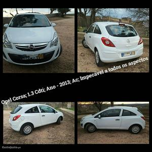Opel Corsa 1.3 Cdti Julho/13 - à venda - Comerciais / Van,