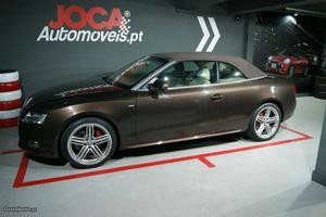 Audi A5 S Line Cabrio Abril/11 - à venda - Ligeiros