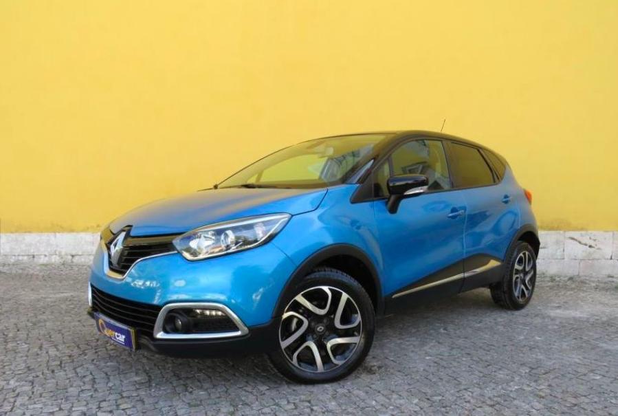 Renault Captur 1.5 DCI EXCLUSIVE GPS 90cv