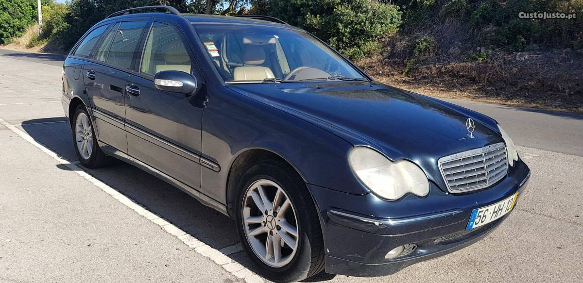 Mercedes-Benz C 220 Cx Automática Abril/03 - à venda -