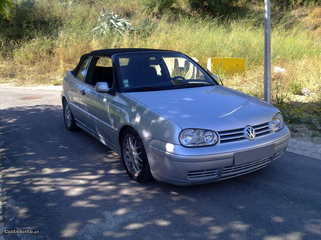 VW Golf 1.9 TDI Cabriolet Maio/01 - à venda - Ligeiros