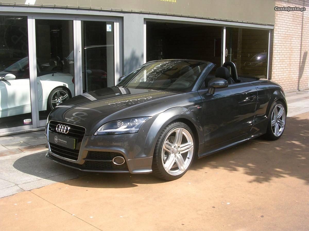 Audi TT TDi Quattro S-Line Janeiro/11 - à venda -
