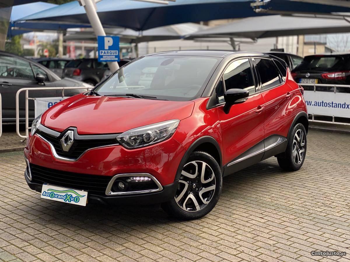 Renault Captur 1.5 DCI Exclusive Dezembro/15 - à venda -