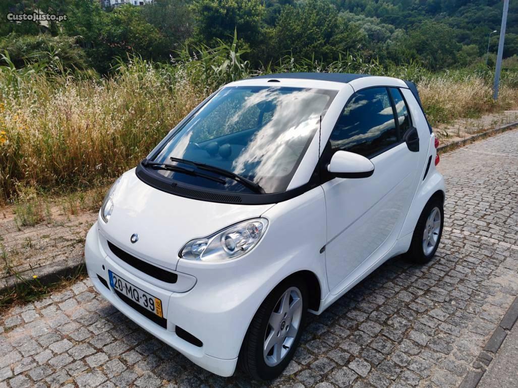 Smart ForTwo cdi Passion Cabrio Janeiro/12 - à venda -
