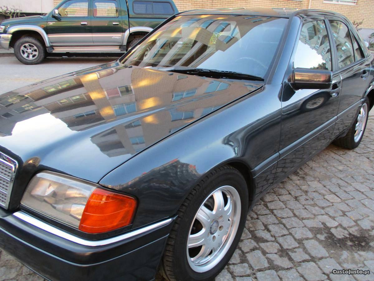 Mercedes-Benz C  muito bom d tudo Setembro/93 - à