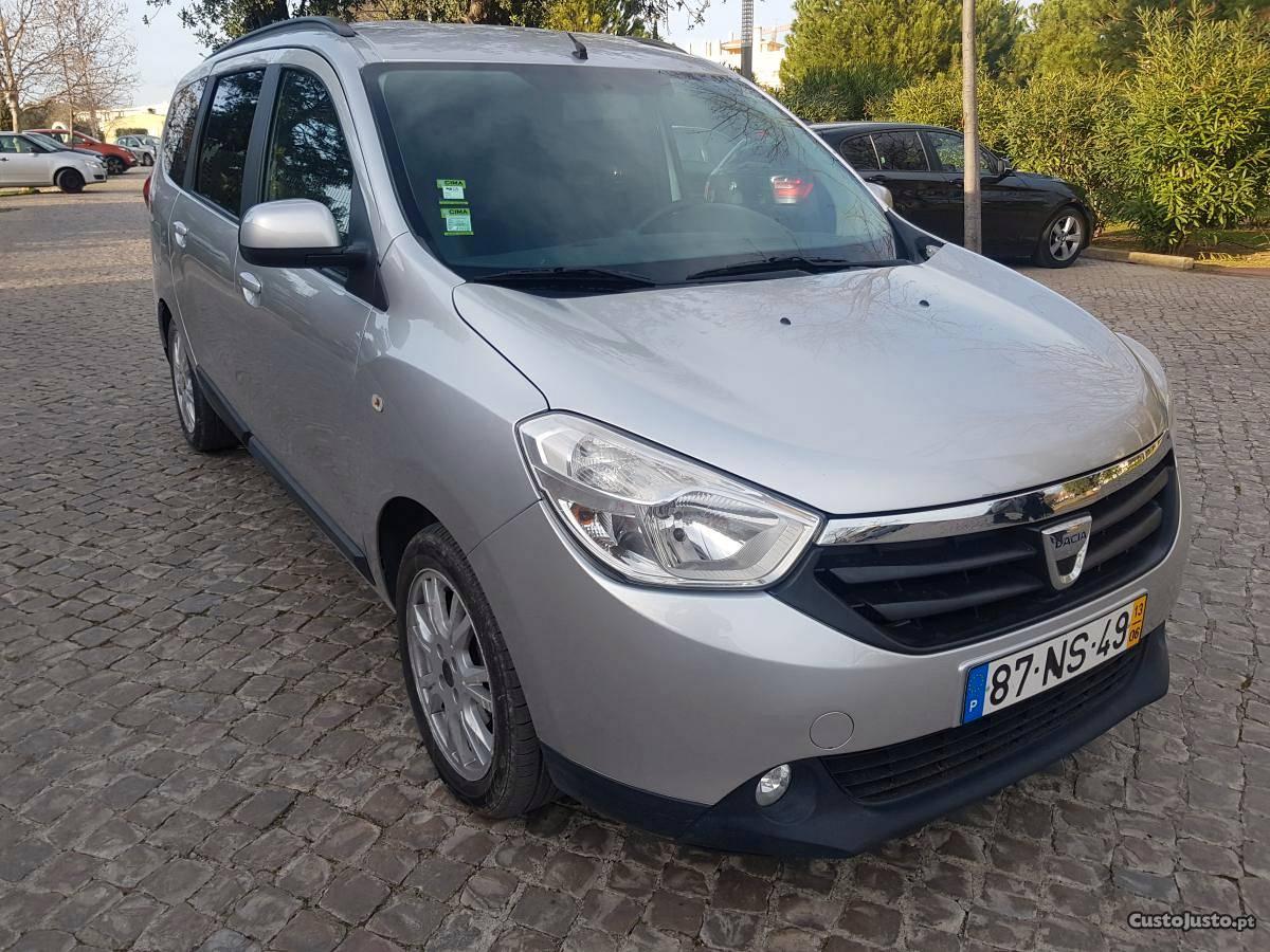 Dacia Lodgy Nacional 7 lugares Março/14 - à venda -